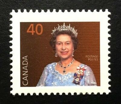 Canada #1168as CPP MNH, Queen Elizabeth II Definitive Booklet Stamp 1990