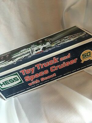 Hess Toy Truck And Space Cruiser With Scout