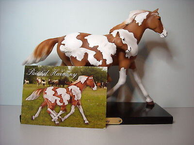 """The Trail Of Painted Ponies """"Painted Harmony"""" American Paint Horse Janee Hughes"""