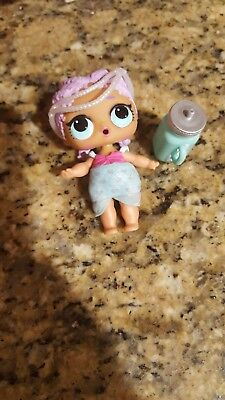 LOL-Surprise-Lil-Outrageous-Littles-Doll-L.O.L Doll MERBABY New Mermaid Series 1