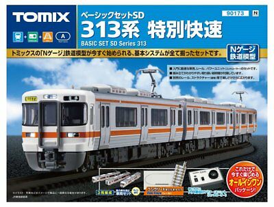 Tomix 90173 JR Series 313 Commuter Train N Scale Starter Set N scale