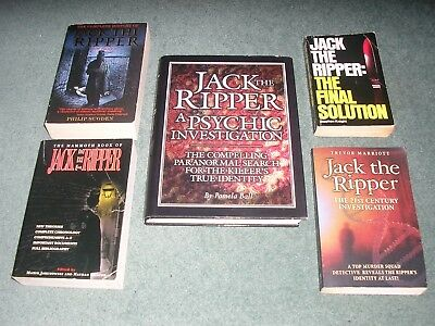 Jack The Ripper - Collection Of 5 'ripper' Books - Only £8.99 Buy Now Free Uk P