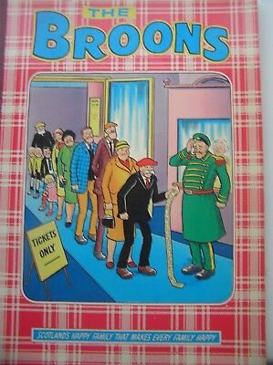 The Broons 1981 Comic Book Scotland's Happy Family