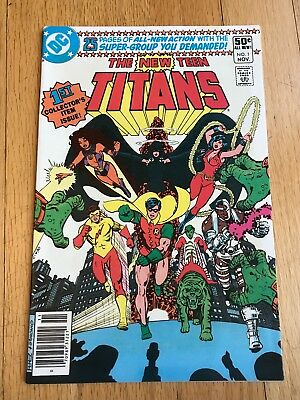 DC's NEW TEEN TITANS set (6 comics incl #1)  CYBORG