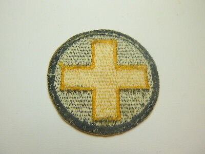A     WW 2 U S Army 33rd Division  Cut Edge White Back Patch