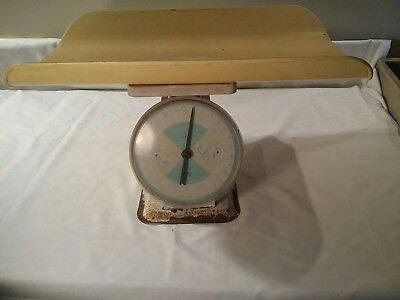 Vintage  American Family Nursery Scale TRAY ON TOP OF SCALE NOT INCLUDED