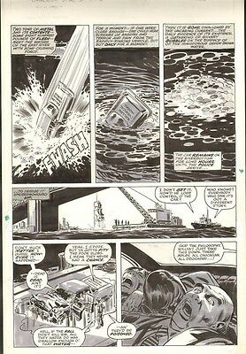 Bronze Age Marvel - Frank Springer & Bob Brown Lilith Original Art from 1977
