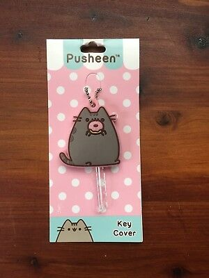Pusheen the Cat Donut Key Cover