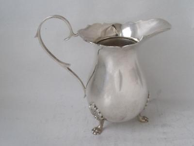 Smart Solid Sterling Silver Cream Jug 1972/ H 9 cm/ 91 g