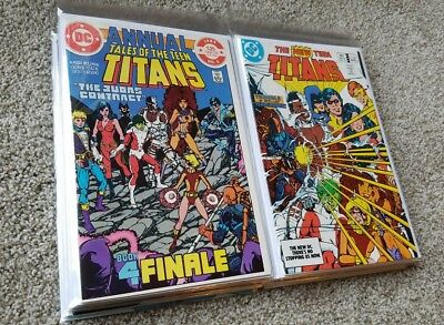 New Teen Titans, Tales Of The Teen Titans, Omega Men - Huge DC Comics Lot!