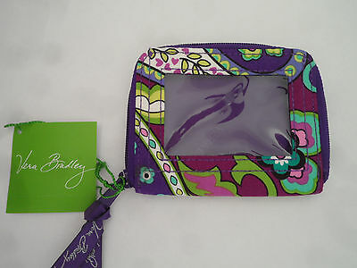 Vera Bradley Zip Around ID Case in Heather (15853-144)