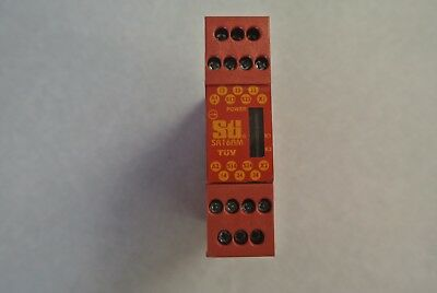 USED Guardmaster STI 4M20 Type 1 Safety Relay SR16AM 24V AC/DC 44510-0740