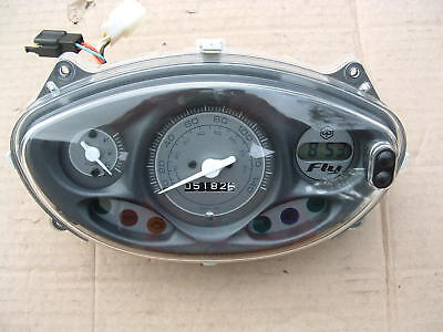 Piaggio Fly 150 Ie 3V 2015 Mod Instrument Cluster Panel Good Cond