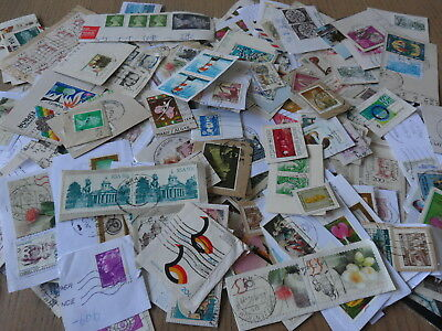 Worldwide 1/4 Lb Sorted Used Stamps Charity Kiloware Collection Mixture Lot 24