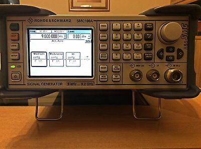 Rohde & Schwarz SMC100A  Signal Generator 9Khz-3.2GHZ Calibrated