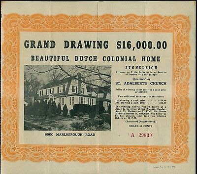 1940's St. Adalbert's Church Colonial Home(In Restricted Neighborhood) Drawing