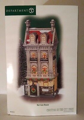 Dept 56 Harrison House Christmas in the City