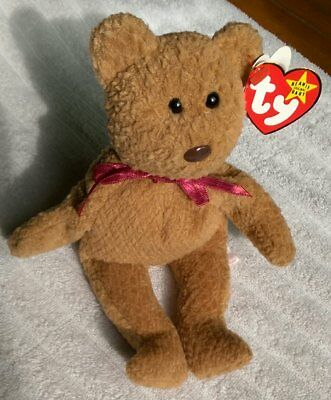 "Ty Beanie Babies ""curly"" With Errors! Ultra Rare! New! Retired."