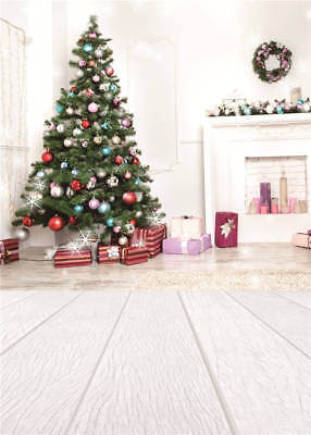 Photo Props Backdrops Christmas Tree Vinyl Computer Background Photography 5x7FT