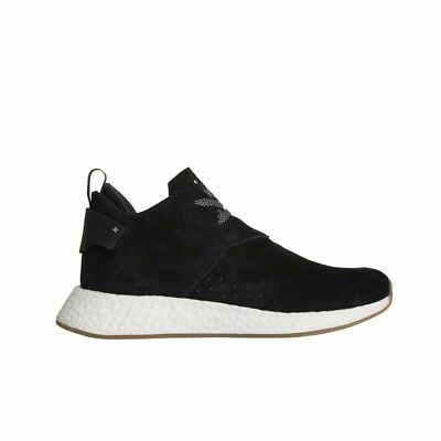 finest selection c71a5 d960a ADIDAS NMD_C2 BOOST City Sock Chukka Suede (Core Black/Gum) Men's Shoes  BY3011