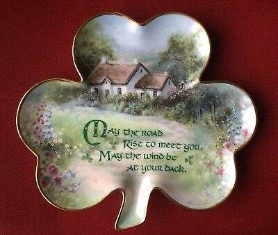 """Franklin Mint """"An Irish Blessing"""" Limited Edition Collector Plate"""