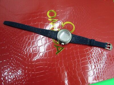 Vintage Used Ladies Omega Dynamic Watch Case 565.015 With Band-Glass -Crown S/s