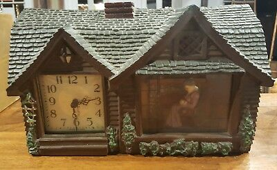 1950's Haddon 'Home Sweet Home' Clock - No Reserve