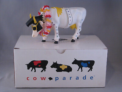 cow parade westland giftware  MIB rock-n-roll #9137