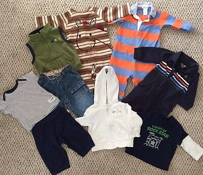 Baby Boy Winter Bundle 3-6 Months - Vest, Hoodie, Jeans Etc