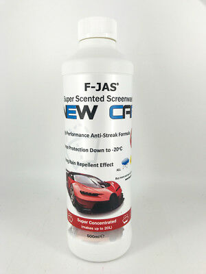 Screen Wash 500ml Super Concentrate New Car