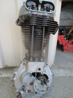 Ariel /norton /triumph ? Single Lung Cutaway Motor   A Must Have 4 Your Manshed