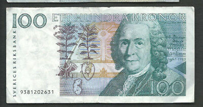 Sweden 1999 100 Kronor P 57b Circulated