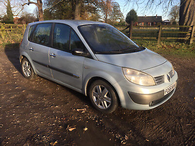 Renault SCENIC 1.6 PETROL SILVER 35638 miles Part exchange to clear