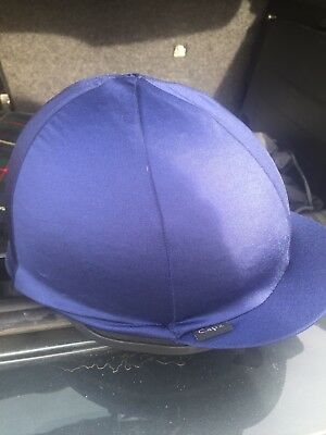 champion horse riding hat with bag and gloves 53-54cm/6 1/2