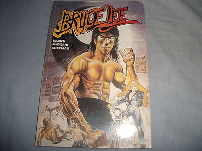 Bruce Lee Baron Mayerik Sherman Graphic Novel First Edition 1995