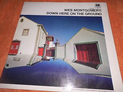 Wes Montgomery – Down Here On The Ground LP