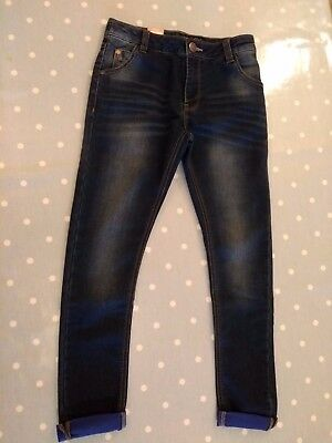 Boys New With Tags Next Skinny  Blue Jeans Age 11