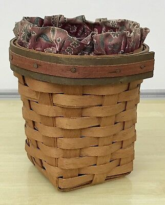 Longaberger Father's Day Pencil Basket Combo 1992