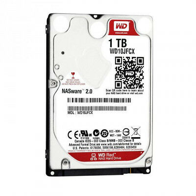 Western Digital Red 1TB,Intern,5400RPM (WD10JFCX) HDD Hard Disk Drive