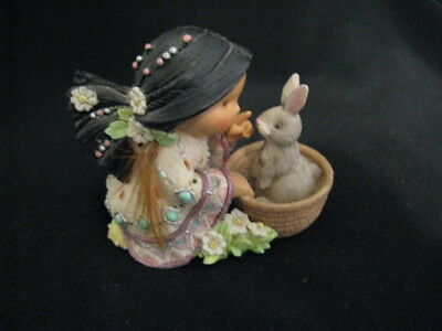 """Vintage 1997 Friends Of The Feather """"little Friend Of Every Bunny"""" Figurine"""