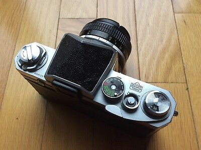 1962-63 Chrome Nikon F Body Excellent Beautiful condition!!!
