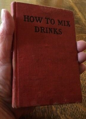 Rare c1912 COCKTAILS BOOK Pre-Prohibition BARTENDER George L. Spaulding MIXOLOGY