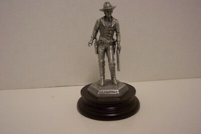 Chilmark Pewter U. S. Marshal statue