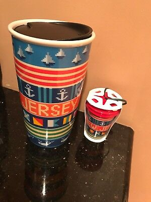 Starbucks 2017 New Jersey Double Wall Ceramic Tumbler & Ornament