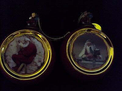 Norman Rockwell's Christmas Classics Heirloom Porcelain Ornament  1999 68903-6