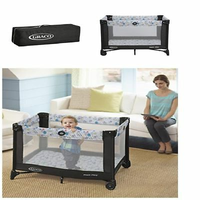 BEST Pack 'n Play Yard Playard with Automatic Folding Feet Portable travel baby