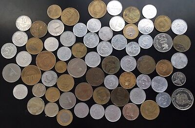 Lot Foreign Coins-1970s-Present-Latin/South American/Caribbean Mix-World Money