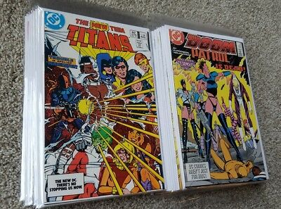 Doom Patrol, New Teen Titans, Tales Of The Teen Titans - Huge DC Comics Lot!