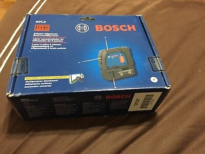 Bosch GPL 3 3-Point Self-Leveling Alignment Laser Level 100ft - 30m NEW