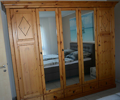 kleiderschrank weiss eur 70 00 picclick de. Black Bedroom Furniture Sets. Home Design Ideas